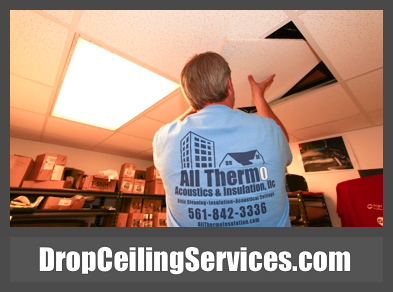 Drop Ceiling Services